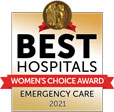 Best Hospitals Womens Choice Award Emergency Care 2021